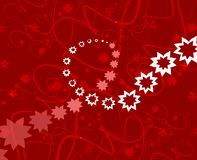 Red celebration backdrop. Backdrop suitable for cards and backgrounds royalty free illustration