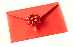 Red celebratory envelope Stock Image