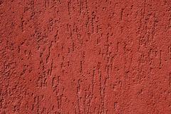 Red cement texture, detail from a wall Royalty Free Stock Photos