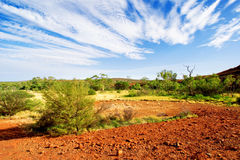 The Red Centre Royalty Free Stock Photos