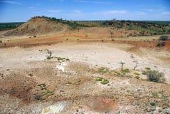 Red Centre - Australian desert Stock Image