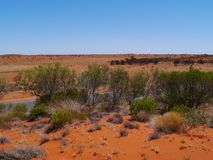 The red centre or Lasseter highway Royalty Free Stock Photography