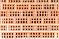 Red Ceramic Construction Bricks Royalty Free Stock Images