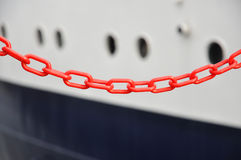 Red chain Stock Photo