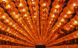 Red chainese latern royalty free stock photo