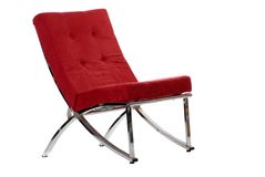 Red chair Stock Images