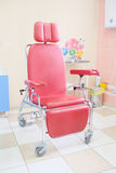 Red Chair For Injection Stock Images