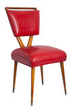 Red chair isoated. Royalty Free Stock Images