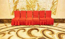 Chair in living room Stock Image