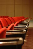 Red Chairs Royalty Free Stock Images