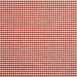 Red check cloth. Red gingham check fabric table cloth Stock Photos