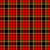 Red check diamond tartan scot plaid fabric material seamless pattern texture background Stock Image