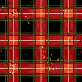 Red checked fabric pattern. check plaid seamless texture. royalty free stock photography