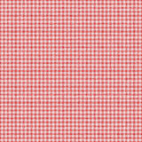 Red checked gingham plaid seamless background Stock Photo