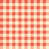 Red Checked Tablecloth. Vector Illustration Of A Red Checked Tablecloth For Background Royalty Free Stock Photos