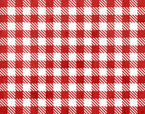Red checked texture. Stock Photo