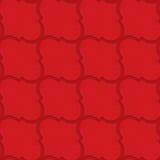 Red checkered diagonal Marrakesh Stock Photos