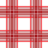 Red checkered seamless pattern repeat Stock Photography