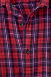 Red checkered shirt Stock Photos