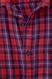 Red checkered shirt Stock Photos