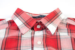 Red checkered shirt Royalty Free Stock Images