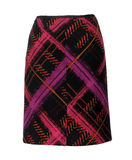 Red checkered skirt Royalty Free Stock Photography