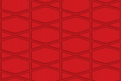Red checkered squashed hexagons Royalty Free Stock Photography