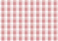 Red checkered tablecloth. Red gingham seamless pattern. Texture from squares for plaid, tablecloths and other textile products. Vector illustration Royalty Free Stock Photo