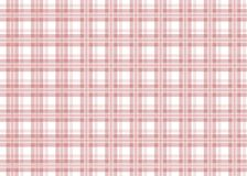 Red checkered tablecloth. Red gingham seamless pattern. Texture from squares for plaid, tablecloths and other textile products. Vector illustration Stock Photos