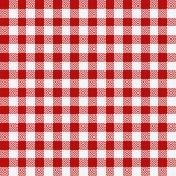 Red checkered texture, restaurant seamless pattern. Red checkered texture, restaurant seamless pattern, kitchen tablecloth background, tartan plaid wallpaper Stock Photo