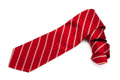 Red checkered tie Stock Photos