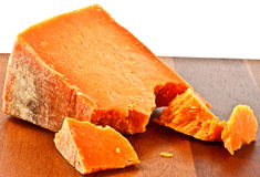 Red cheese Royalty Free Stock Image