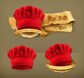 Red chef hats Stock Photography