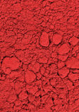 Red chemical powder Royalty Free Stock Images