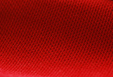 Red Chenille fabric background Royalty Free Stock Image