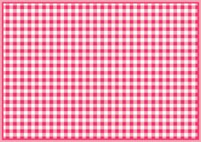 Red chequered background Royalty Free Stock Photography