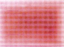 Red chequered fabric background Stock Photo