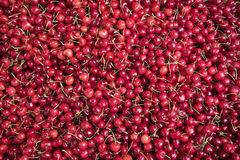 Red cherries. Royalty Free Stock Photos