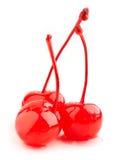Red cherries Stock Image