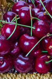 Red cherries, sweet cherries Royalty Free Stock Photography