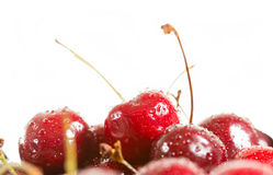 Red cherries Royalty Free Stock Images