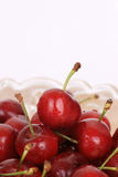 Red cherry fruit Royalty Free Stock Images