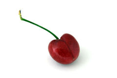 Red Cherry Isolated Royalty Free Stock Photos