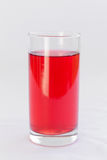 Red cherry juice Stock Photos
