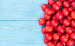 Red cherry plum Royalty Free Stock Photos
