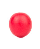 Red cherry plum. Ripe red cherry plum isolated on white background Royalty Free Stock Image