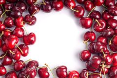 Red Cherry Royalty Free Stock Photography