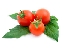 Red cherry tomato Stock Photo