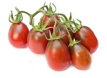 Red cherry tomato Stock Photo