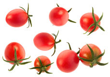 Red cherry tomato collection Stock Photography